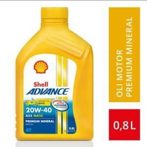 Katalog Shell Advance 4t Ax3 Sae 20w 40 Oli Pelumas 800 Ml Katalog.or.id