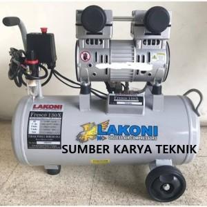 Info Mesin Kompresor Pompa Pumpa Angin Oilless Silent 1hp Lakoni Fresco130 Katalog.or.id