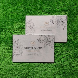 Katalog Buku Tamu Pernikahan Hardcover Design Custom Wedding Bk 1 Katalog.or.id