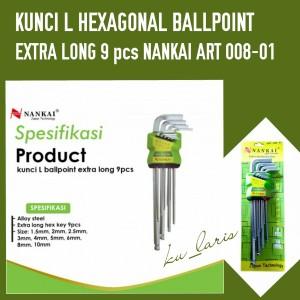 Katalog Nankai Kunci L Bulat Ballpoint Extra Long Set 9pc Katalog.or.id
