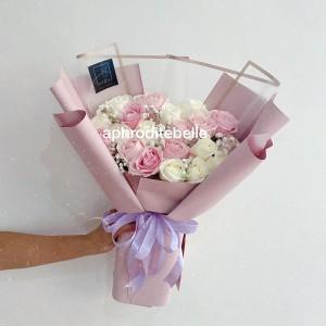 Harga Buket Bunga Mawar Peach Bucket Wisuda Bouquet Hadiah Ulang Tahun Katalog.or.id