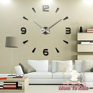 Info Jam Dinding Besar Raksasa Dekorasi Minimalist 3d Giant Wall Clock Diy Katalog.or.id