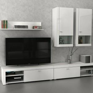 Katalog Rak Tv Minimalis Meja Tv Borussia Cabinet 1200 White Natural Katalog.or.id