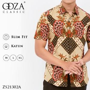 Info Kemeja Batik Pria Baju Batik Fashion Pria Slim Fit Ls195 Katalog.or.id