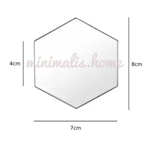 Info Cermin Kaca Hexagonal Segi Enam Hiasan Dinding 12pcs Silver Katalog.or.id