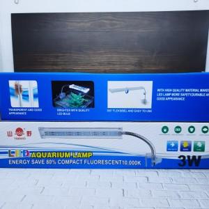 Info Yamano Lampu Led Jepit 3w 3 Watt Lampu Aquarium Aquascape 3watt Katalog.or.id