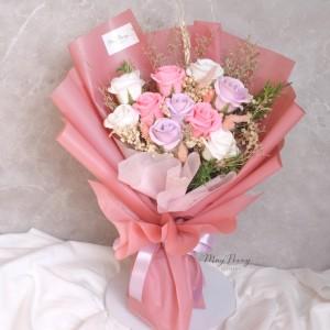 Info Heart Box Rose Soap Bunga Sabun Valentine Katalog.or.id
