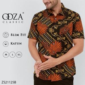 Katalog Kemeja Batik Pria Baju Batik Fashion Pria Slim Fit Ls195 Katalog.or.id