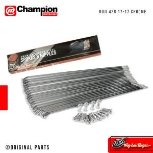 Info Jari Jari Jeruji Tdr Racing Chrome 89 120 130 154 159 164 172 184 Katalog.or.id