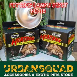 Harga Lampu Kura Darat Tortoise Fitting Lampu Jepit 1 Set Katalog.or.id