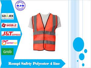 Info Safety Vest Rompi Safety Proyek Polyester Polister Polyster Pvc Katalog.or.id