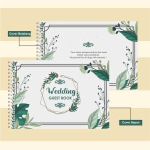 Harga Buku Tamu Pernikahan Hardcover Design Custom Wedding Bk 1 Katalog.or.id