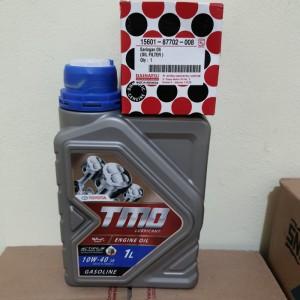 Harga Paket Oli Mesin Tmo 10w40 4liter Filter Oli Avanza Katalog.or.id