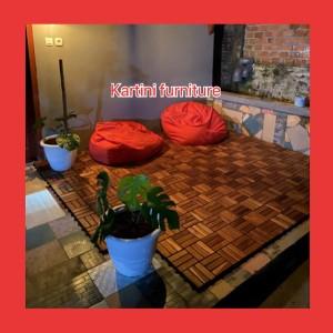 Harga Decking Tile Kayu Jati Kebun Kolam Teras 30x30 Katalog.or.id