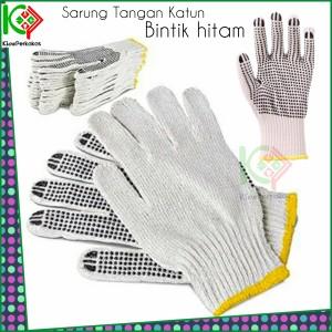 Harga Sarung Tangan Kain Benang Bintik Kuning Bintik Serbaguna Tukang Katalog.or.id