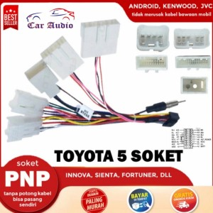 Katalog Kabel Power Socket Toyota Daihatsu Plug N Play Soket Toyota Katalog.or.id