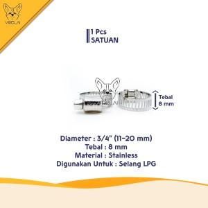 Info Klem Selang Hose Clamp Handle Putar 3 4 Katalog.or.id