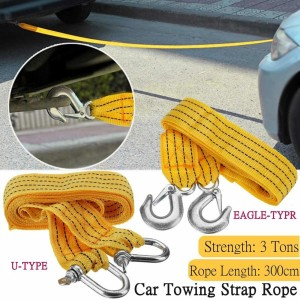 Harga Tali Derek Mobil Emergency Tow Rope 3m Tali Nylon Derek Katalog.or.id