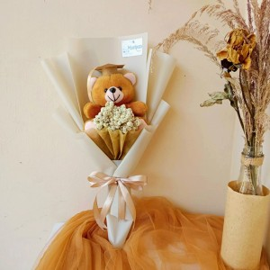 Katalog Buket Bunga Mawar Peach Bucket Wisuda Bouquet Hadiah Ulang Tahun Katalog.or.id