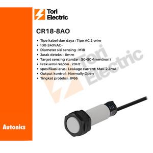 Info Autonics Proximity Sensor Cr18 8ao Katalog.or.id