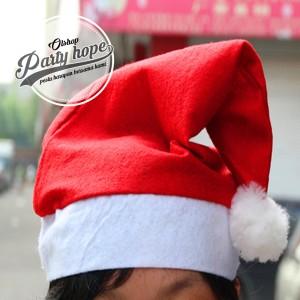 Harga Topi Natal Murah Topi Santa Polos All Size Merry Christmas Bando Katalog.or.id