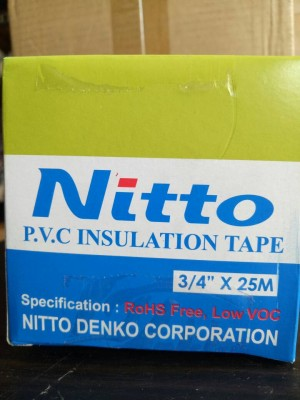 Katalog Isolasi Listrik Nitto 3 4 X 25meter Lakban Kabel Katalog.or.id