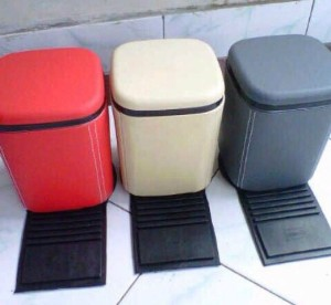 Info Tempat Sampah Floor Mobil Bahan Kulit Sintetis Hitam Katalog.or.id