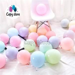 Katalog Balon Latex Macaron Ballon Wedding Decoration Pastel Birthday Party Katalog.or.id