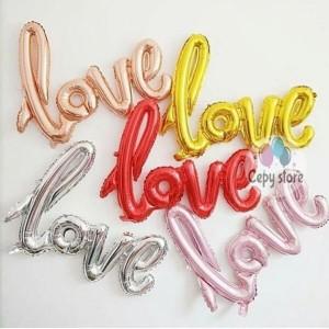 Katalog Balon Foil Love Latin Katalog.or.id