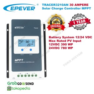 Katalog Solar Charge Controller 20 20a Epever Tracer 2210a Lcd Real Mppt 12 24 Katalog.or.id