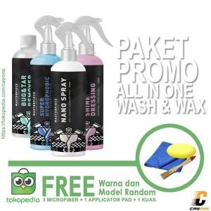 Harga 3m Paket Hemat Cuci Mobil Premium Car Wipe Smart Sponge Car Wash Katalog.or.id