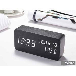Katalog Jam Weker Alarm Kayu Digital Suara Control Berkualitas Katalog.or.id