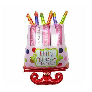 Harga Cake Topper Balon Foil Angka Katalog.or.id