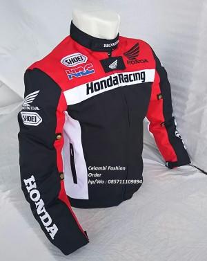 Katalog Jaket Motor Honda Hrc Full Protektor Honda Racing Club Touring New Katalog.or.id