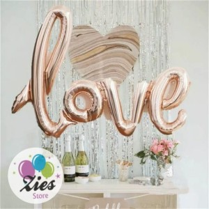 Info Balon Foil Love Latin Katalog.or.id