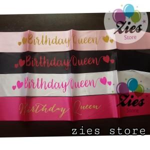 Info Sash Selempang Birthday Queen Selempang Ulang Tahun Ratu Katalog.or.id
