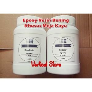 Harga Epoxy Resin Bening Clear 60 Gram Hardener 60 Gram Katalog.or.id