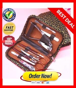 Harga Gunting Kuku Alat Manicure Pedicure Pouch Set 15 In 1 Katalog.or.id
