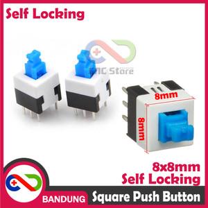 Harga Stainless Push Button Self Locking Lampu Simbol Power Metal Switch Katalog.or.id