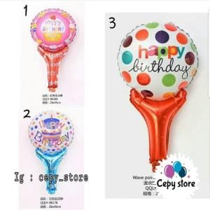 Harga Balon Foil Pentungan Happy Birthday Katalog.or.id