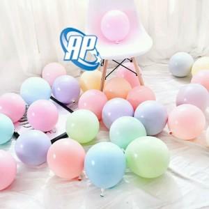 Info Balon Latex Macaron Ballon Wedding Decoration Pastel Birthday Party Katalog.or.id