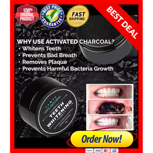 Info Teeth Whitening Activated Charcoal Carbon Pemutih Gigi Alami Katalog.or.id