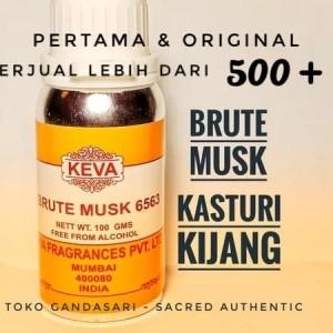 Info Bibit Minyak Kasturi Kijang 12 Ml Keva Brute Musk Parfum Murni Import Katalog.or.id