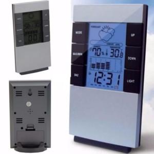 Katalog Digital Thermometer Hygrometer Date Clock Kelembaban Suhu Alarm Katalog.or.id