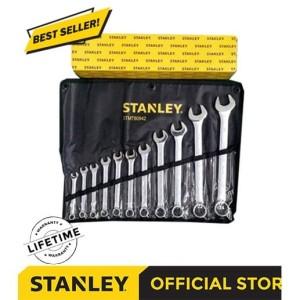 Harga Stanley Combination Wrench Kunci Ring Pas Set 8 Pcs Stmt78099 8 Katalog.or.id