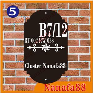 Info Nomor Rumah Acrylic 30x18cm 3d Katalog.or.id