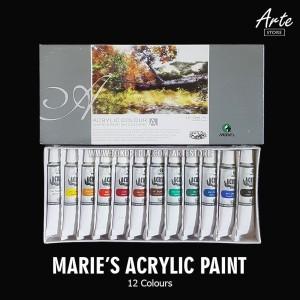 Katalog Atk0297mr 12 Warna Maries Cat Acrylic Akrilik Colour 12ml 812b Acrilik Katalog.or.id
