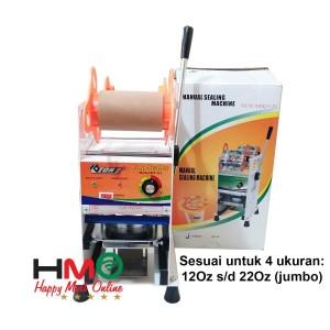 Harga Mesin Press Gelas Plastik Cup Sealer Manual Eton D8 Katalog.or.id