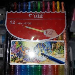 Katalog Crayon Titi 12 Warna Katalog.or.id