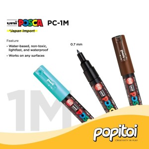 Katalog Uni Posca Pc 3m Marker Pen Medium Point Marker Warna Warni Katalog.or.id